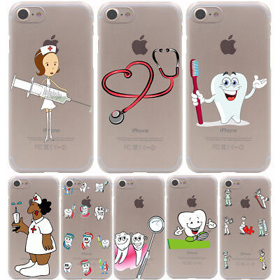 Case For Iphone 7 Plus Apple Phone Cover Dentist Dental Care Tooth Doctor Teeth