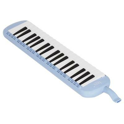 37Keys Melodica Pianica Keyboard Harmonica + Carrying Bag for Beginner Blue
