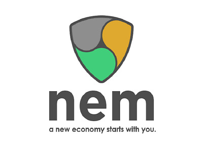 100 NEM ( XEM ) crypto  - New Economy Movement