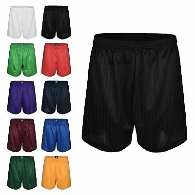 Boys/Girls Mens/Womens Football Shorts Rugby Gym Running Sports School P.EShorts