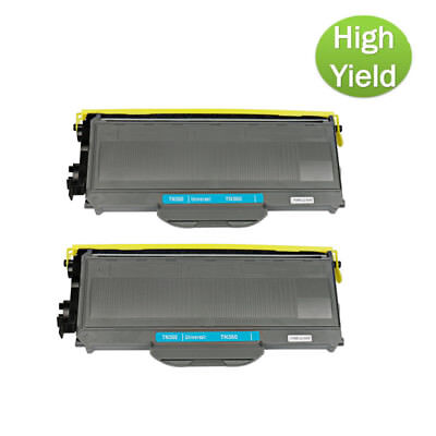 2PK TN360 Compatible Toner Cartridge For Brother HL-2140 2170W MFC-7340 7840W