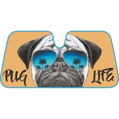 Pug Life Sunshade - Accorion, Front
