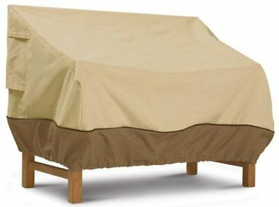 Outdoor Sofa Cover Loveseat Patio Furniture Protective Small Tan Waterproof New