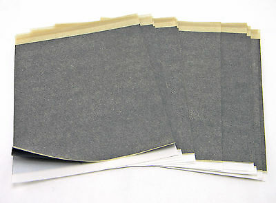 "25 SHEETS COPYSETTE MANIFOLD & CARBON PAPER SET WHITE 8.5""x11"""