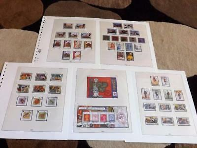Isle Of Man-2001-Compl Years Commems+2 Sheets-(No Stamp Show)-Fine Used