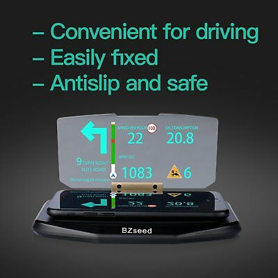 HEADS UP DISPLAY - Car HUD Phone GPS Navigation Image Reflector  For Xeroly Sell