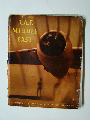 R.A.F. Middle East Official Story Royal Air Force Ops 1942-1943 Booklet 1945