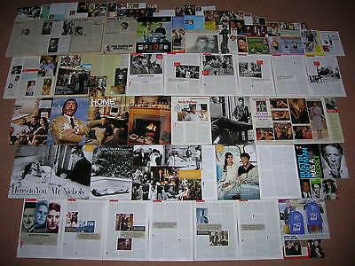85+ DUSTIN HOFFMAN Magazine Clippings