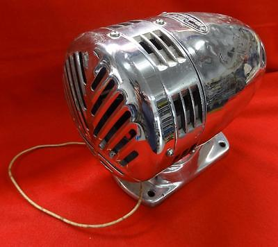 1960s FEDERAL SIGN AND SIGNAL FIRE TRUCK SIREN - FUNCTIONS - MODEL WG - #NM325