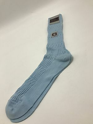 Vintage Mervyn's Cambridge Classics Light Blue Knee Socks Cotton NOS