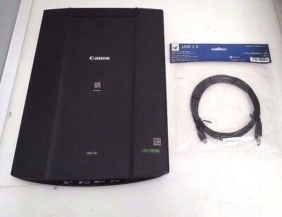 Canon CanoScan LiDE 120 Flatbed Photo & Document Scanner 2400 x 4800 dpi