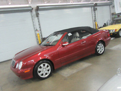 2000 Mercedes-Benz CLK-Class CLK320 2dr Cabriolet 3.2L 57700 MILES FLORIDA NONSMOKER SERVICED CARFAX REPORT AVAILABLE CONVERTIBLE