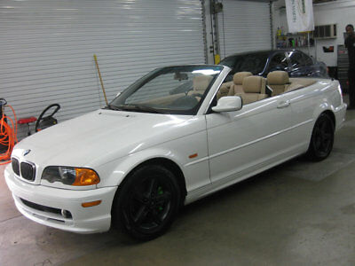 2002 BMW 3-Series 325Ci IMMACULATE 5SPD MANUAL STICK NONSMOKER FLORIDA FULLY SERVICED EXCEPTIONAL