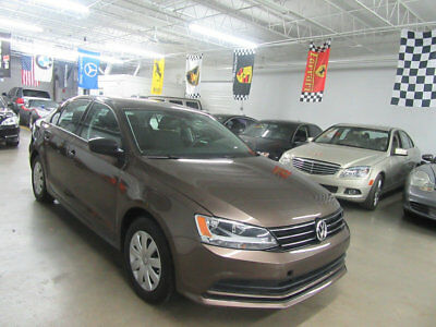 2016 Volkswagen Jetta 1.4T S 4dr Automatic 8,000 MILES NONSMOKER & STUNNING! SALVAGE AND FIXED DRIVES GREAT LOOKS AMAZING