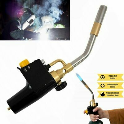 Perfect Plumb Adjustable Brazing Soldering Gas Torch Long Life MAPP /Propane Gas