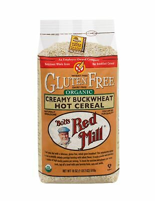 Bob's Red Mill Organic Gluten Free Creamy Buckwheat Hot Cereal - 18 oz - Case of