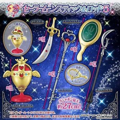 Bandai Sailor Moon Gashapon Can Vol.5 Stick Rod & Transformation Wands Full Set