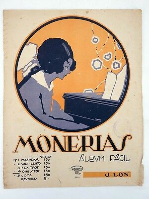 MONERÍAS. ALBUM FÁCIL 4. ONE STEP  (José Lon) s/f. PARTITURA