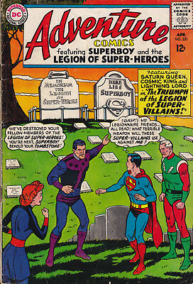 Adventure Comics # 331 (Vg) April 1965 Silver Age (Dc)