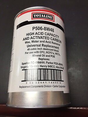 Totaline® HVAC 48 CU IN Filter Drier Core Line Filter - Sealed  Part # P506-8W48