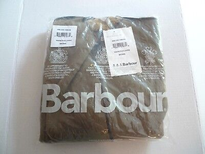 Barbour- A55 Warm Pile Snap In Lining For International & Beacon-Made @ Uk-40