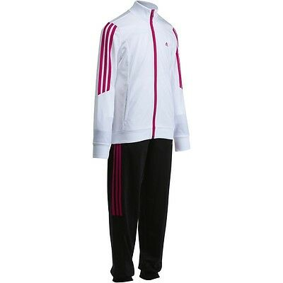 Adidas Girls Kids Full Separates Track Suit Brand New+Tags Size 5-6 Perfect Gift