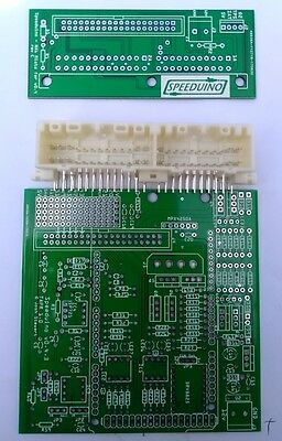Speeduino 0.4 PCB + mx5 plug and play board kit speeduino megasquirt miata eunos