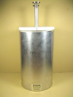 Pope Scientific  8621/0099  Aluminum Dewar/Flash 1900mL w/ S. Steel Cooling Tube