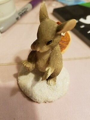 Charming Tails By Dean Griff  Silvestri Mail Mouse Figurine 87573 Collectible