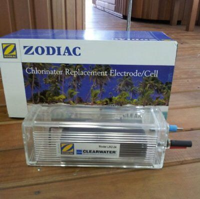 Zodiac Clearwater Lm2-24 Chlorinator Replacement Salt Cell Genuine Electrode.