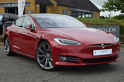 2017 Tesla Model S 75 Electric red Automatic