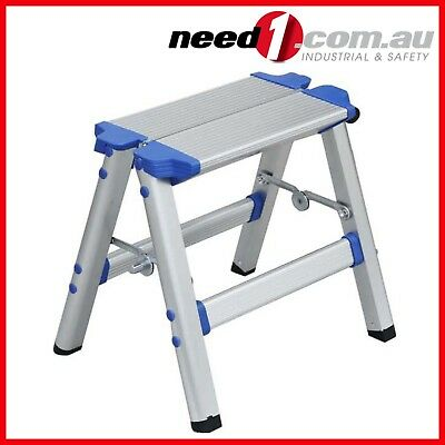 Mini Aluminium Step Ladder |150kg Capacity | Small & Foldable