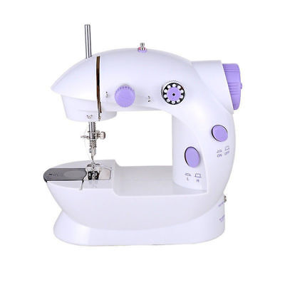 Mini Electric Sewing Machine 2 Speed Double Thread Automatic Tread Rewind Tool