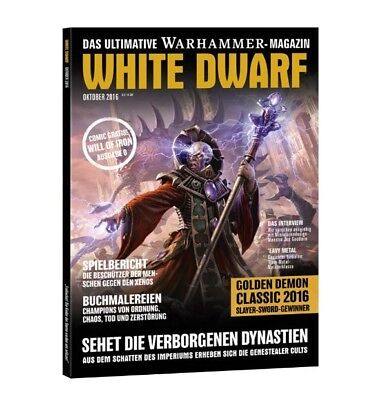 White Dwarf 2 October 2016 (German) by the 1 October 2016 Games Workshop NEW