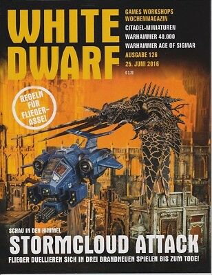 White Dwarf 126 June 2016 (German) by the 25 june 2016 Games Workshop WDs