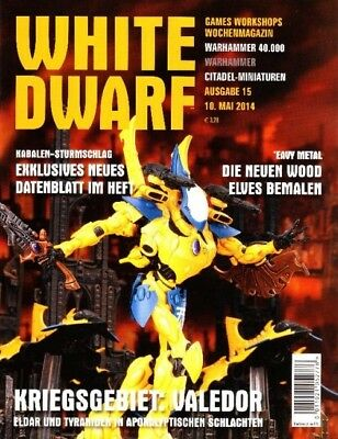 White Dwarf 15 May 2014 (German) by the 10 May 2014 Games Workshop