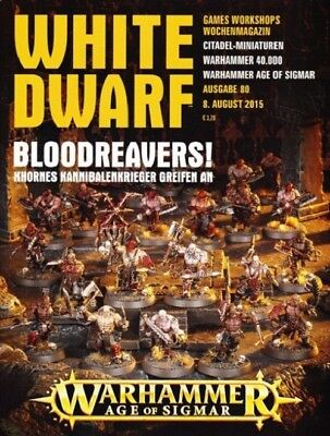 White Dwarf 80 August 2015 (German) by the 8 August 2015 Games Workshop