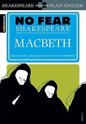 Macbeth: No Fear Shakespeare Spark No by William Shakespeare New Paperback Book