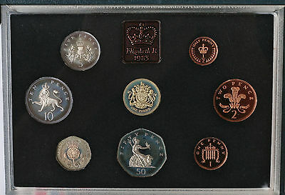 Royal Mint 1983 Proof Set + 1983 Mint Set