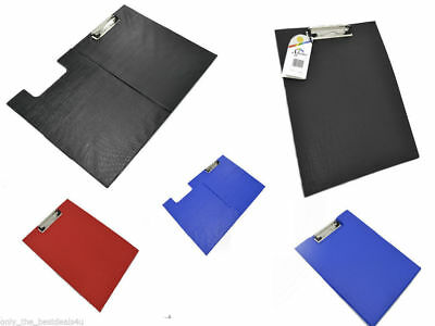 A4 Clipboard Solid Single Fold-Over New Office Document Holder Filing Clip Board