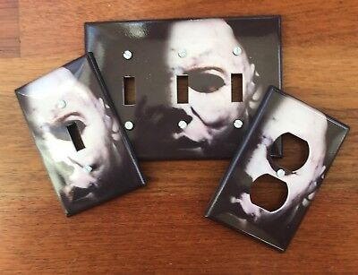 Michael Meyers light switch plate Halloween decor light switch  FAST SHIP !