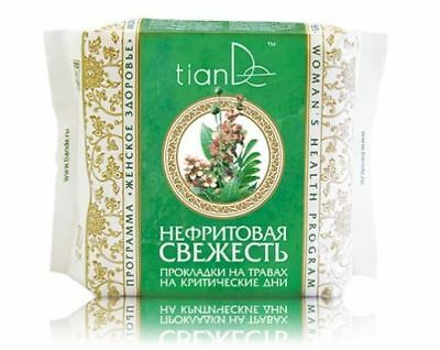 TianDe Nephritic Freshness Day Hygiene Pads with Herbal Extract, 10 pcs.