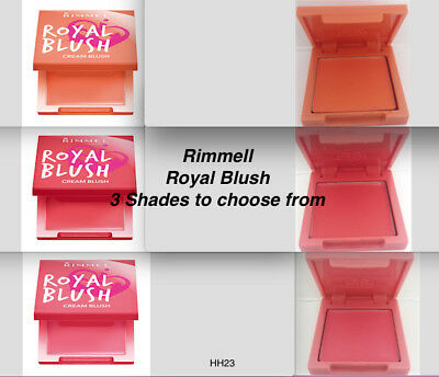 Rimmel Royal Blush Cream Blush Blusher - Choose Your Shade