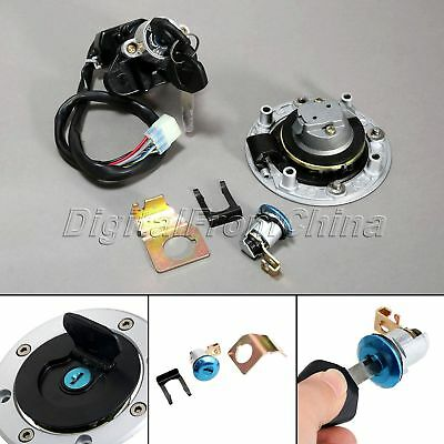 Ignition Switch Fuel Gas Cap Cover Seat Lock Key For Suzuki Vstorm 1000 DL1000
