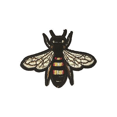 Bee / Fly (Iron on) Embroidery Applique Patch Sew Iron Badge