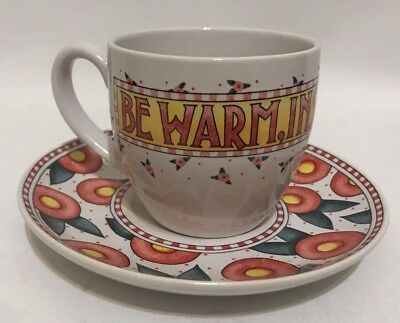 Mary Engelbreit Time For Tea Cup and Saucer Set
