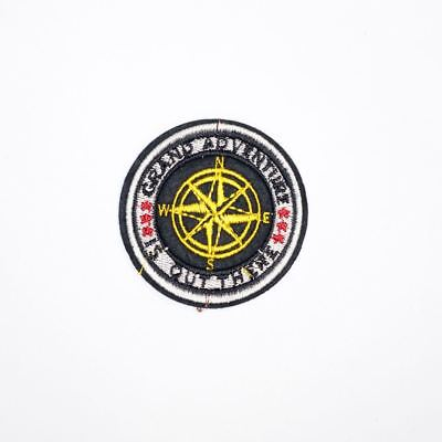 Grand Adventure Out Here (Iron On) Embroidery Applique Patch Sew Iron Badge