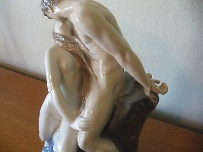 Wave and Rock Erotic T. Lundberg for Royal Copenhagen Porcelain Figurine