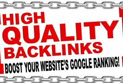 I will build 50+ PR9 Manual High PR Quality SEO Backlinks (Updated for 2019)