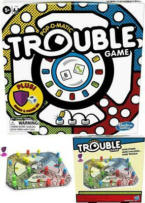 Trouble Board Game by Hasbro - NEW Free Shipping US Seller Kids Family ORIGINAL